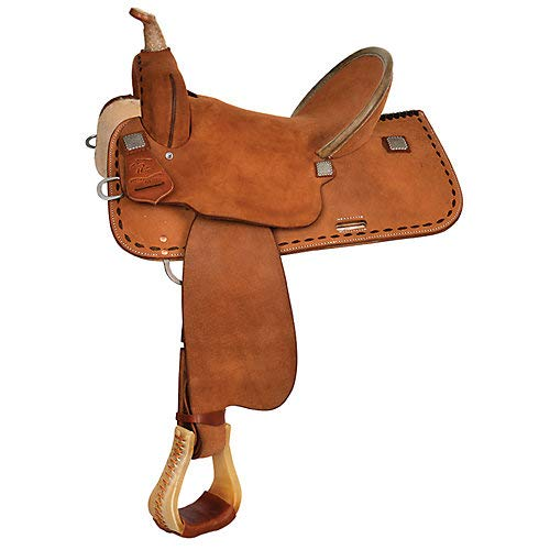 Circle Y High Horse Lobo Wide Tree Roughout Barrel Sdl 15in