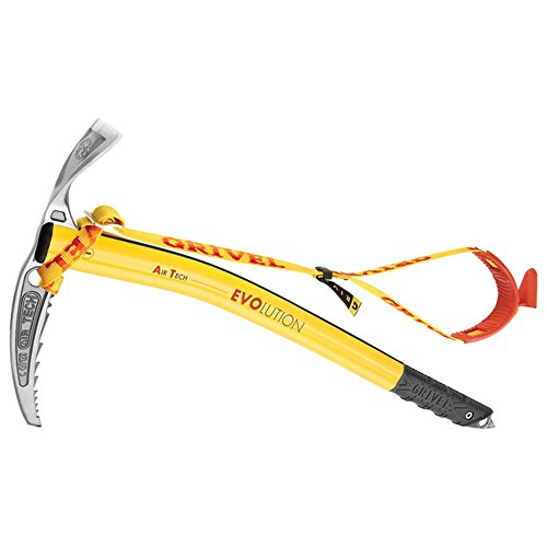 Grivel Air Tech G Bone Axe 48 with Leash Yellow 66