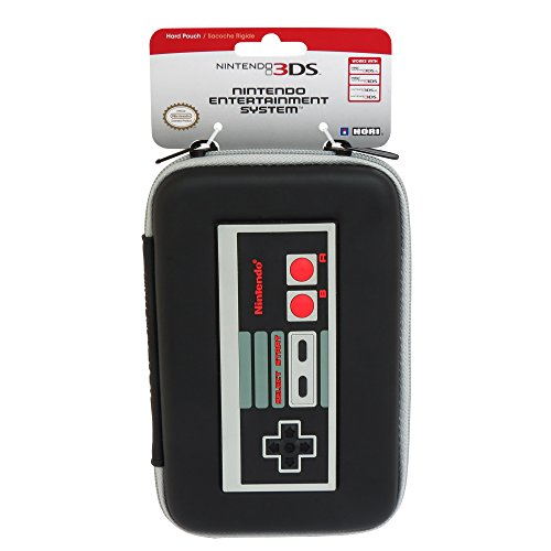 HORI Retro NES Controller Hard Pouch for Nintendo NEW 3DS ()