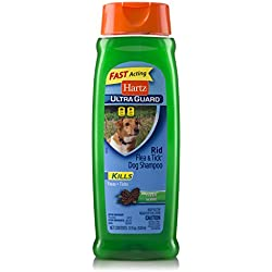 Hartz UltraGuard Fresh Scented Rid Flea & Tick Dog Shampoo