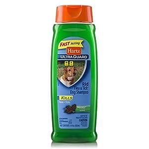 Hartz UltraGuard Rid Flea & Tick Shampoo for Dogs – Fresh Scent (18 oz)