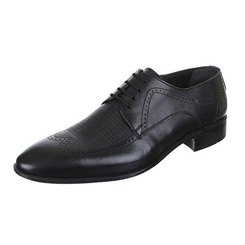 Ital-Design - Zapatos de trabajo Hombre Negro - negro