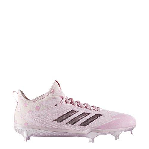 Adidas Adizero Afterburner 4 Tacchetti Da Uomo Baseball Chiaro Rosa-puro Rosa-chiaro Rosa Chiaro