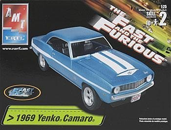 Camaro Yenko (AMT 1969 Yenko Camaro the Fast and Furious 1/25 Scale Plastic Model Kit by Fast & Furious)