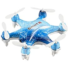 Dayan Anser Mini Hexacopter,Altitude Hold RC Helicopter Beginer Drones,Mobile Wifi Control,6 Axis Gyro System Micro Helicopters With 0.3MP Camera,Nano Vehicle Toys USB Charge, LED Flash Light (Blue)