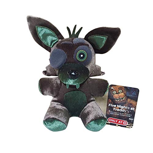 PampasSK Movies & TV Five Nights at Freddy's 4 FNAF Plush Toys 18cm Freddy Bear Foxy Chica Bonnie Plush Stuffed Toys Doll for Kids Gifts 1 PCs