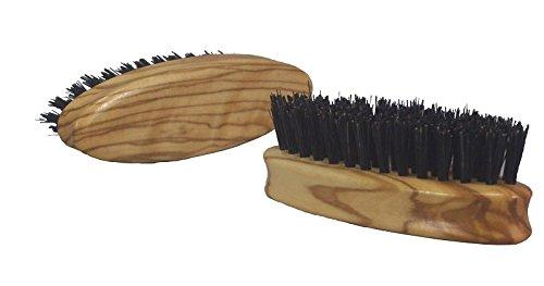 Bartbürste aus Olivenholz