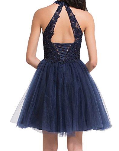 Blau Mini Pailletten Abendkleider Damen A Cocktailkleider Linie Weinrot Festlichkleider Spitze Navy Partykleider Charmant Rock mit Fxfq1Tq