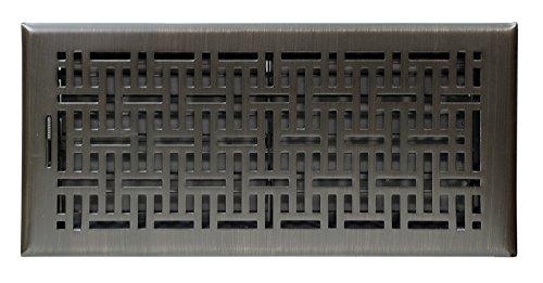 Accord Ventilation AMFRRBB614 Wicker Design Floor Register,