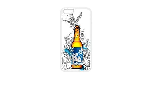iPhone 6 4.7 pulgadas de la cubierta del estuche Funda Blanca Brewdog Cerveza Para Punks V3Y7MW teléfono cubierta de la caja Funda DIY personalizada: Amazon.es: Electrónica