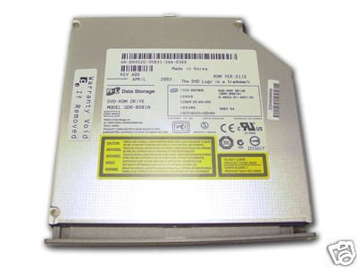 Dell INSPIRON 1100 5100 5150 DVD/CD laptop drive