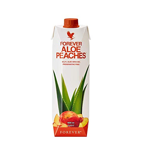 Forever Living Forever Aloe Bits N' Peaches 33.8 fl oz