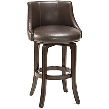 Hillsdale Napa Valley 25  Swivel Counter Stool in Brown  sc 1 st  Amazon.com & Amazon.com: Napa Valley Swivel Counter Stool - Brown Upholstery ... islam-shia.org
