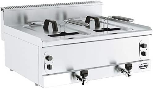 Combisteel - Freidora profesional de gas 8 o 16 litros – Gama 600 ...