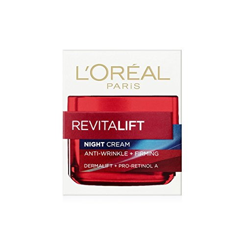 L'Oreal Dermo-expertise Revitalift Anti-Wrinkle + Firming Night Cream, 1.7 Ounce