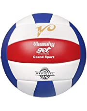 Premium Volleyball - Waterproof Indoor/Outdoor Official Volleyball for Boys/Girls, Gift for Birthday, Xmas Day(、