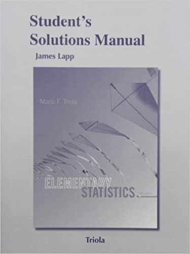 Amazon students solutions manual for elementary statistics students solutions manual for elementary statistics 12th edition fandeluxe Gallery