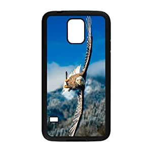 Bald Eagle Use Your Own Image Phone Case for SamSung Galaxy S5 I9600,customized case cover ygtg577899 Kimberly Kurzendoerfer