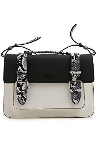 Armani Jeans Collegetasche 7A796, nero/ bianco