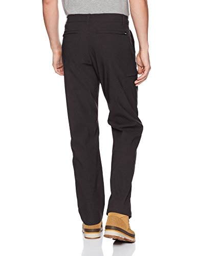 UNIONBAY Men's Rainier Lightweight Comfort Travel Tech Chino Pants, Charcoal, 36x30 by UNIONBAY (Image #2)