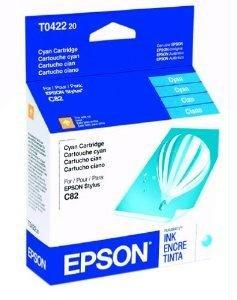 (EPST042220 - Epson Cyan Ink Cartridge)