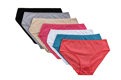 Panmanni-Womens-Underwear-Ultra-Soft-Comfort-Cotton-Plus-Size-Sexy-Lingerie-Brief-Panties-Assorted-Colors