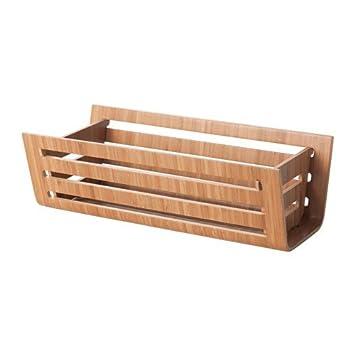 Ikea Rimforsa Korb Aus Bambus 32x15x11cm Amazon De Kuche Haushalt