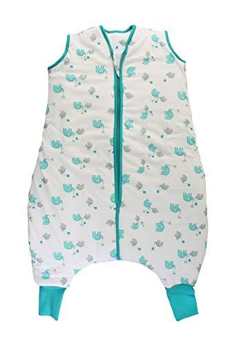 Slumbersac Sleeping Bag with Feet 2.5 Tog Simply Blue Elephants 3-4 Years