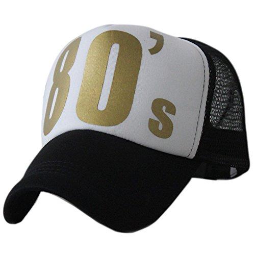 Bayto Unisex Fashion Net Street Hats Hip-hop Bboy Baseball Truck Cap 80s 90s - Hip Fashion 80s Hop Men