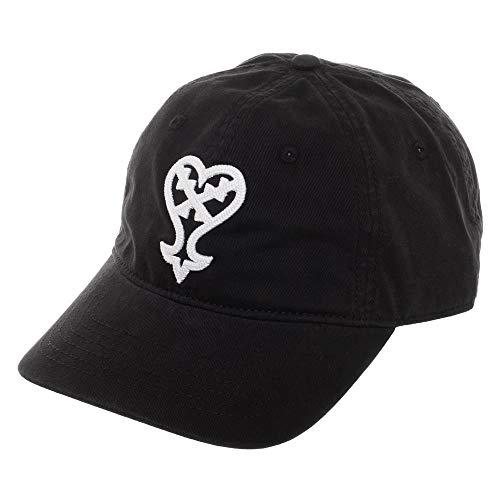 Black Kingdom Hearts Dad Hat Adjustable Kingdom Hearts Snapback Hat (Kingdom Hearts Hat)