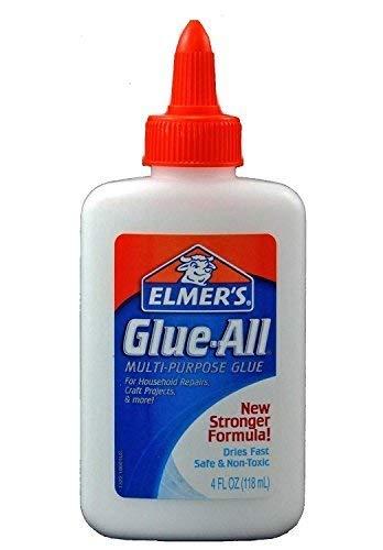 Elmer's Glue-All Multi-Purpose Glue, 4 Ounces, White (E1322) - 12 Pack by Elmer's