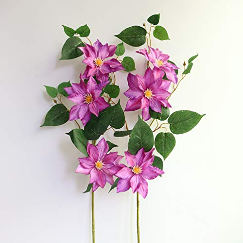 MUFEN-Silk-Clematis-Stem-Sprays-Outdoor-Artificial-Flowers-for-Wreaths-Corsages-Home-Wedding-Table-Room-Decor-Purple