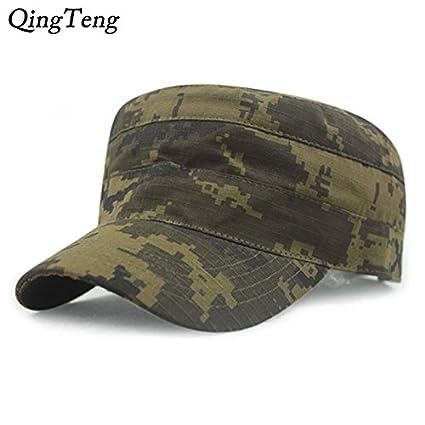 6c81a7bd Generic C4, 56cm to 60cm : Digital Camo Cap Casquette Camouflage Hats For  Men Flat