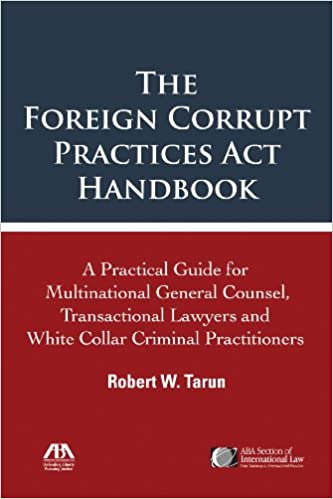 Amazon Com The Foreign Corrupt Practices Act Handbook The
