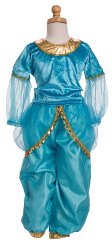 Little Adventures 11192 Arabian Princess Costume Age 3-5 with Hairbow
