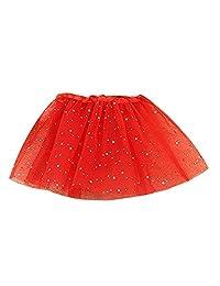 Yoyorule Baby Girls Princess Stars Sequins Party Dance Ballet Tutu Skirts