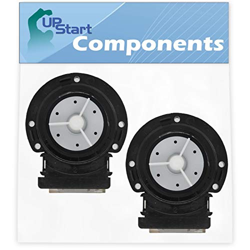 2-Pack 4681EA2001T Washer Drain Pump Motor Replacement for LG Washing Machines - Compatible with Part Number AP5328388, 4681EA1007G, 2003273, 4681EA1007D, 4681EA2001D, 4681EA2001N, 4681EA2001U