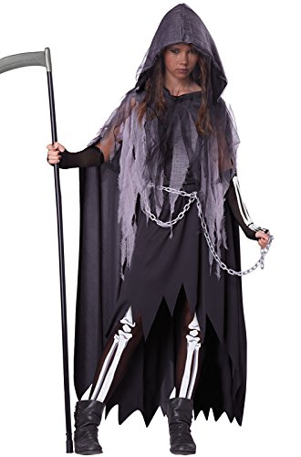 [California Costumes Miss Reaper Tween Costume, Large] (Halloween Reaper)