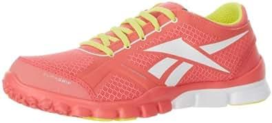 Reebok Women's TrainFlex DC Shoe,Coral/Green/White,9 M US