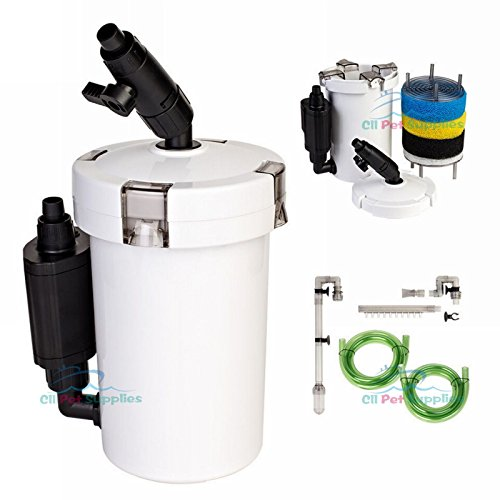- Mini External Canister Filter Table Top Nano Fresh/Salt Aquarium SUNSUN 602B