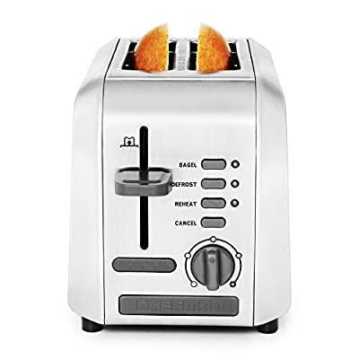 Chefman RJ31-P2-White 2 Piece Slice Toaster, White