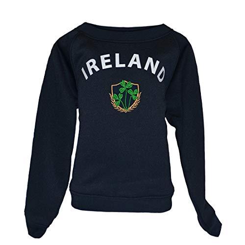 Shamrock Shamrock Kids Sweatshirt - Lansdowne Navy Ireland Shamrock Crest Kids Sweatshirt (1/2 Years)