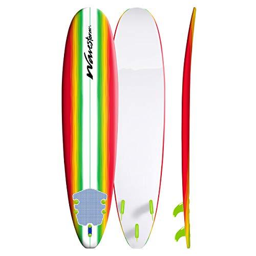 Wavestorm 8′ Classic Surfboard, Multi