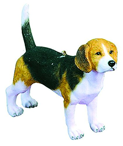 Beagle 3.5 Inch Resin Hanging Ornament (Breed Ornament)