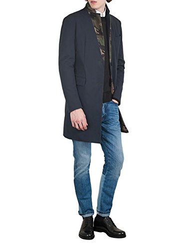 Valentino Homme LV3CA2203EV598 Bleu/Vert Tissu Blazer