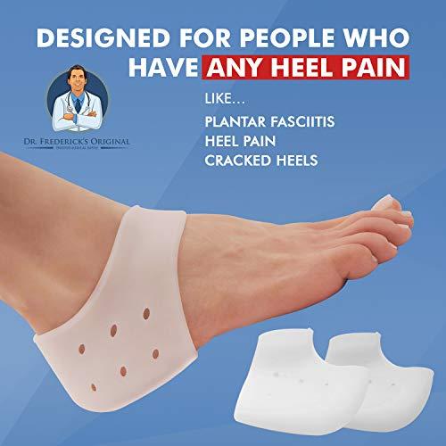 2 Pieces Frederick/'s Original Gel Heel Protectors Heel Guards Heel ... Dr