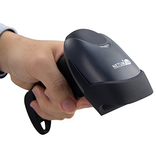 Handheld 1D Laser Barcode Scanner 32 Bit USB Wired Cable Reader A4 Bar Code Supermarket for POS System - NT-M1 from NETUM