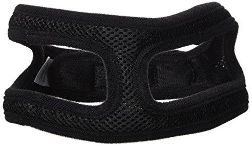 ChokeFree Velpro Mesh Pet Shoulder Harness Collar, 18'', Black by ChokeFree