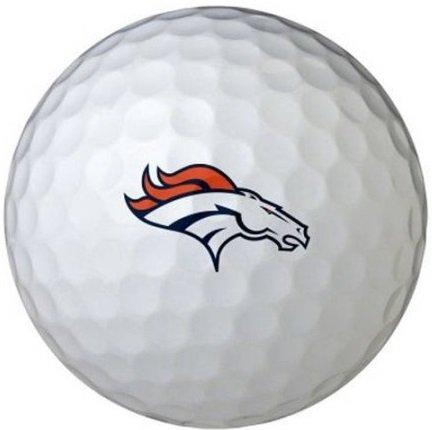 (Wilson NFL Logo Golf Balls 3-Dozen Denver Broncos)