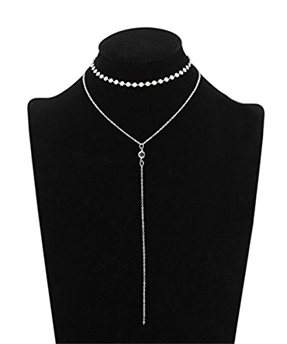 Lariat Tassel Choker Necklace - Udobuy New Stylish Women Long Tassel Chain Choker Lariat Choker Necklace Adjustable Chain